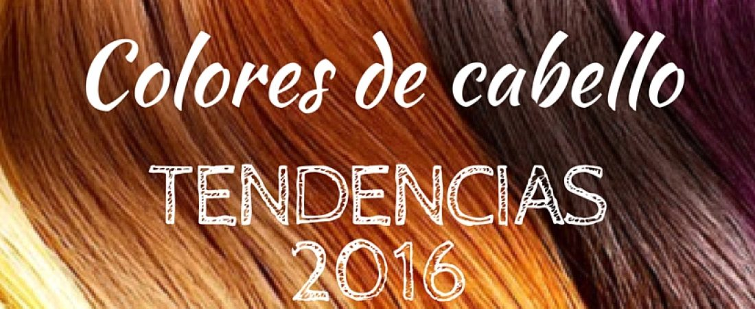 Tendencias de Color 2016